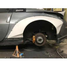 350Z Rear Arches
