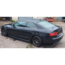 AUDI A5 COUPE SIDE SKIRT EXTENSIONS