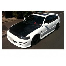 CRX Fibreglass Replica Mugen Body Kit (VT)